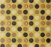 Tau 20 X 20 Capitonne Mustard Decor Topos XVX