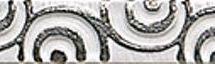 Tau 3 X 19,8 Capitonne White Listelo Troquel RRF