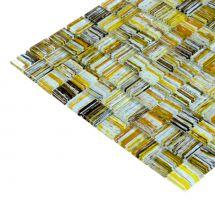 Mozaik ploščice steklo multicolor