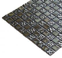 Mozaik ploščice srebrne
