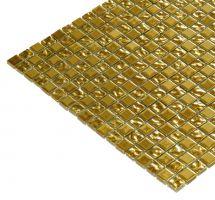 Mozaik ploščice zlate