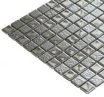 Mozaik ploščice mix srebrni