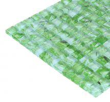 Mozaik ploščice zelene