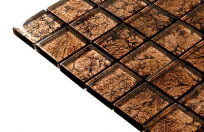 Mozaik ploščice svetlo rjave